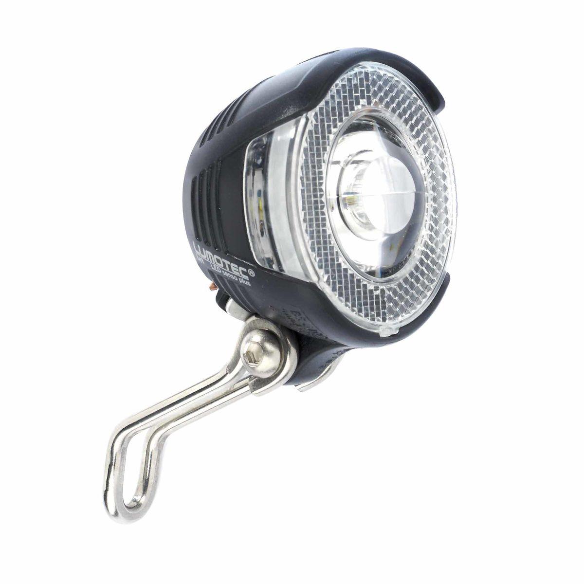 Fahrrad Scheinwerfer LED 20 Lux für Nabendynamo Schalter /& Standlicht
